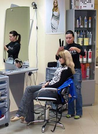 Девушку выебали в в парикмахерской м моему